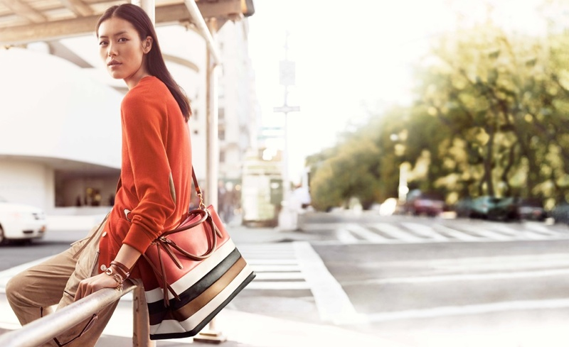 coach spring 2014 campaign3 Preview | Liu Wen + Karlie Kloss for Coach Spring 2014 Campaign