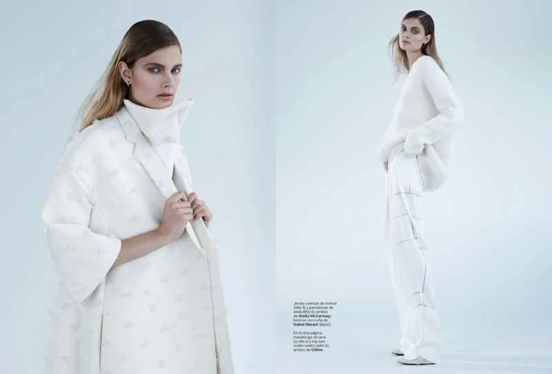constance jablonski model2 Constance Jablonski Wears Sleek Style in S Moda by Eric Guillemain