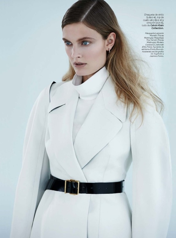 constance jablonski model4 Constance Jablonski Wears Sleek Style in S Moda by Eric Guillemain