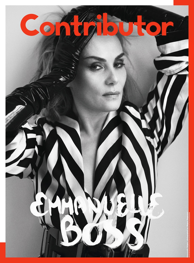 contributor mag boss issue1 Hilary Rhoda, Chloe Moretz + Emmanuelle Seigner Cover Contributor Magazine