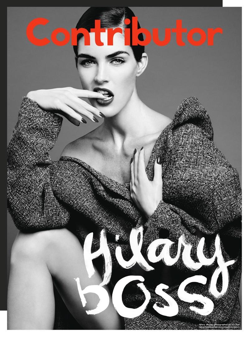 Hilary Rhoda, Chloe Moretz + Emmanuelle Seigner Cover Contributor Magazine