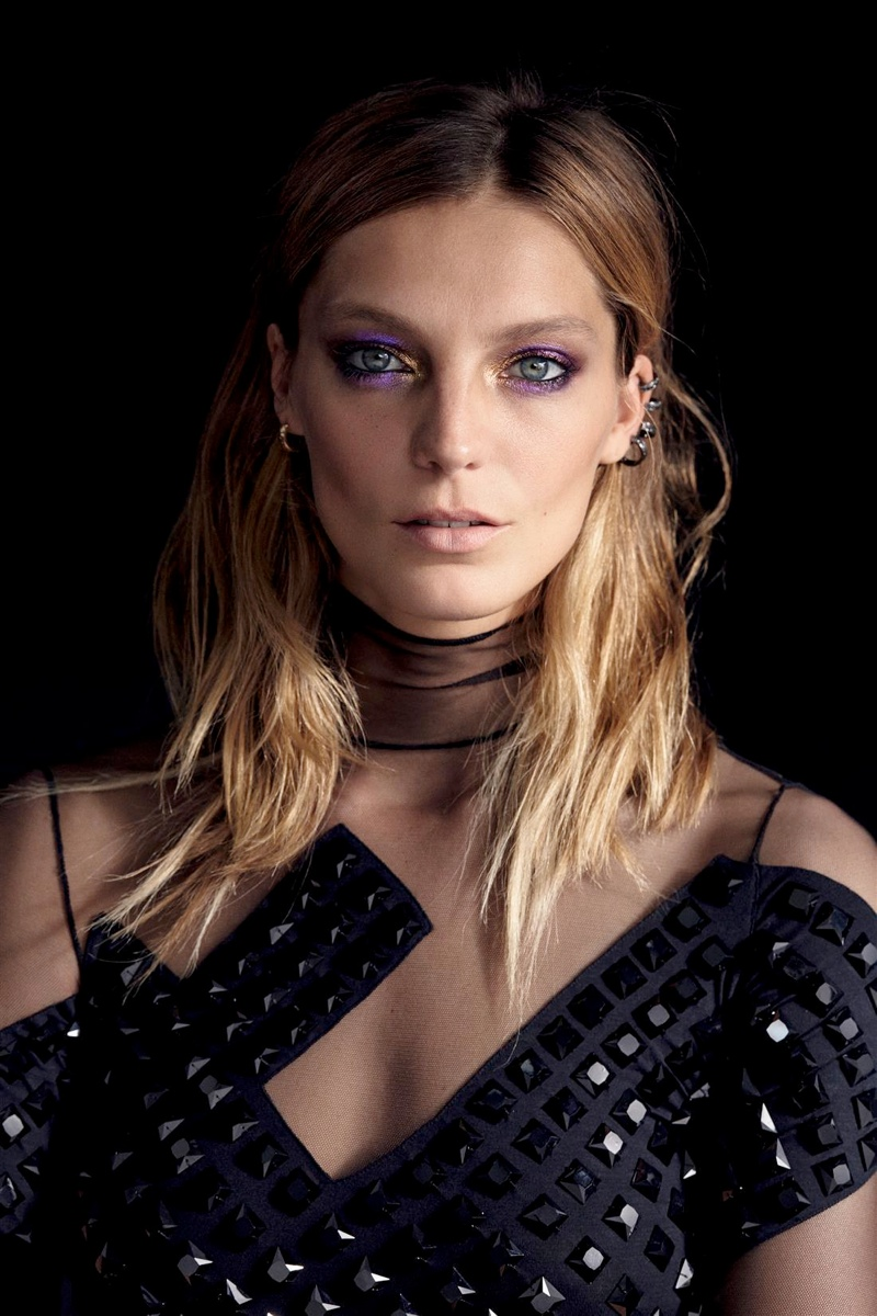 daria werbowy cass bird9 Daria Werbowy Models Leather Fashions for Cass Bird in LExpress Styles