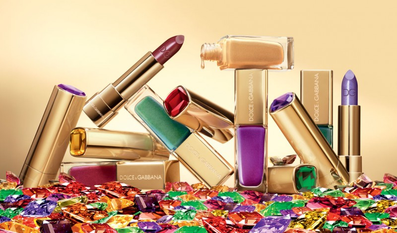 dg sicilian jewels 800x469 Dolce & Gabbana Sicilian Jewels Makeup Line for the Party Season