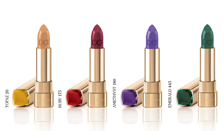 dg sicilian jewels lipstick Dolce & Gabbana Sicilian Jewels Makeup Line for the Party Season