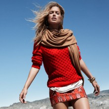 doutzen winter hm2 220x220 H&M Launches Activewear Line, H&M Sport