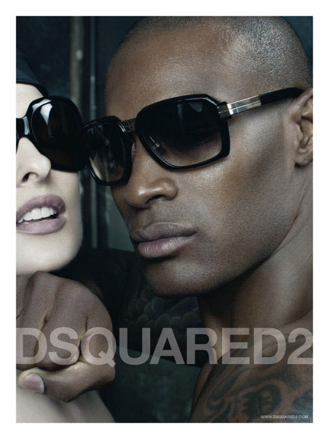 dsquared spring 2009 campaign 5 Throwback Thursday | Naomi Campbell + Linda Evangelista for DSquared2 Spring 2009 Campaign