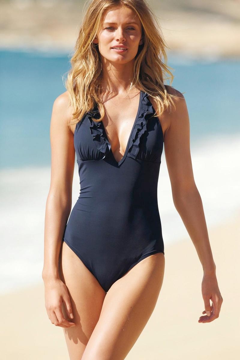 edita vilkeviciute models swimwear looks for next spring 2014. Black Bedroom Furniture Sets. Home Design Ideas