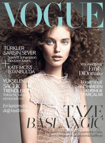 Emily DiDonato Lands Vogue Turkey January 2014 Cover