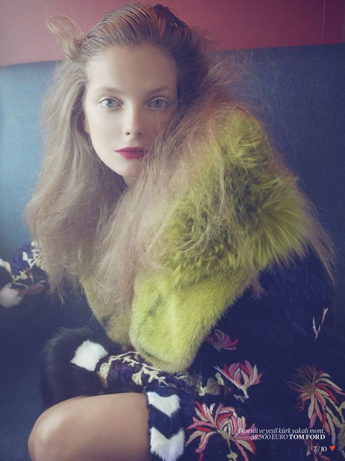 Eniko Mihalik Poses for Sofia & Mauro in Vogue Turkey Shoot