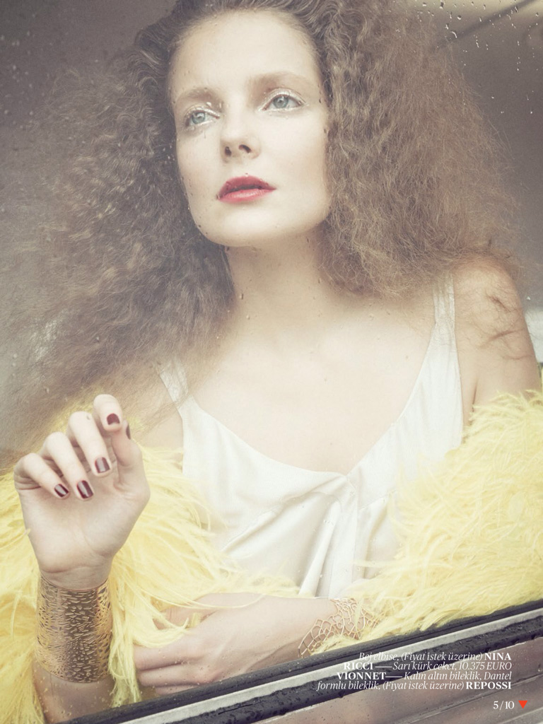Eniko Mihalik Poses for Sofia & Mauro in Vogue Turkey Shoot