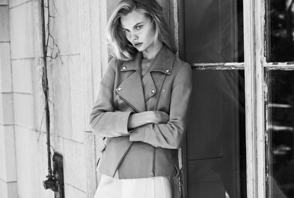 Magdalena Frackowiak Poses for Filippa K Spring 2014 Campaign
