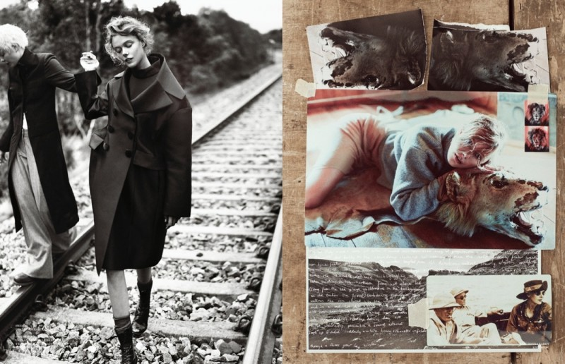 Frida Gustavsson Enchants for Scandinavia S/S/A/W by Boe Marion