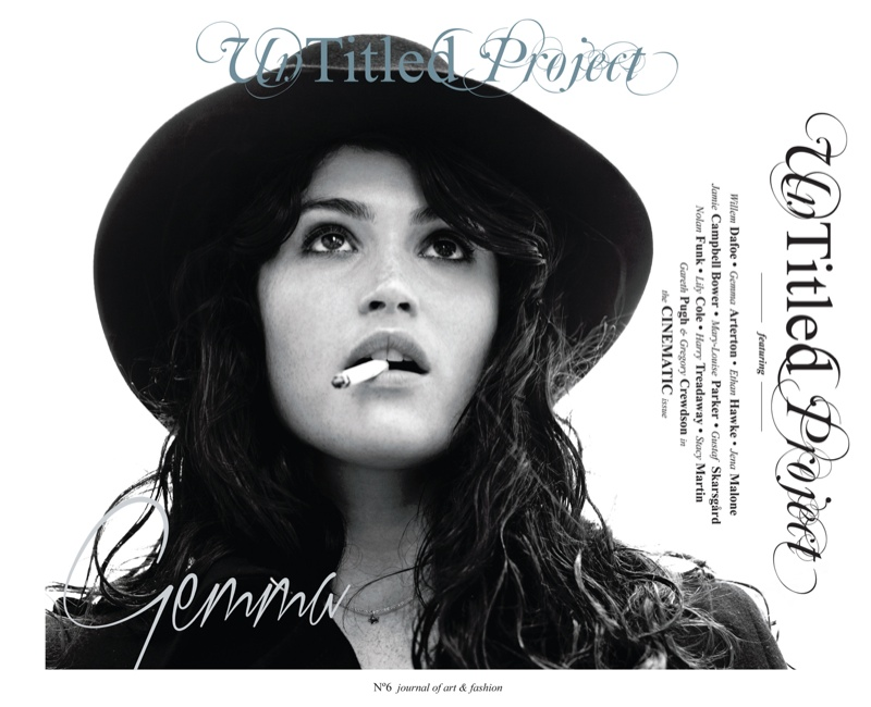 gemma arterton cover Gemma Arterton Enchants for Un Titled Project #6 by Dennis Golonka