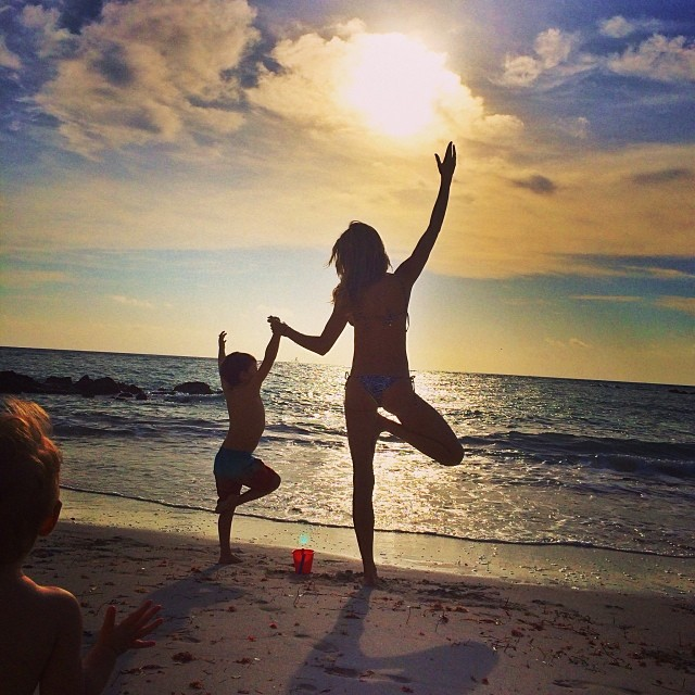 gisele beach Instagram Photos of the Week | Natasha Poly, Eniko Mihalik + More Model Pics