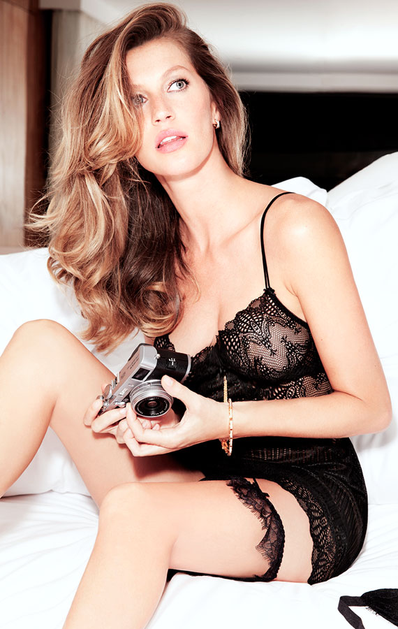 gisele intimates1 Gisele Bundchen Stuns for New Gisele Intimates Campaign