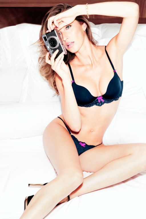 gisele intimates2 Gisele Bundchen Stuns for New Gisele Intimates Campaign