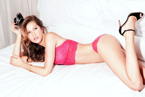 gisele intimates3 Gisele Bundchen Stuns for New Gisele Intimates Campaign