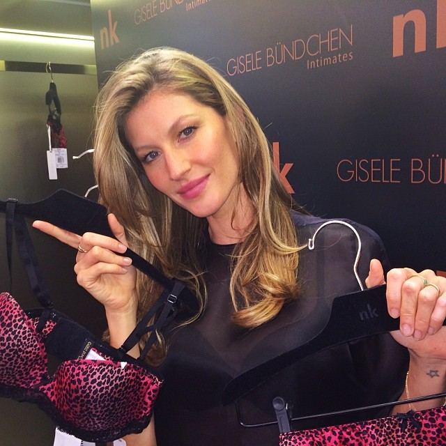 gisele lingerie Instagram Photos of the Week | Barbara Palvin, Behati Prinsloo + More Model Pics