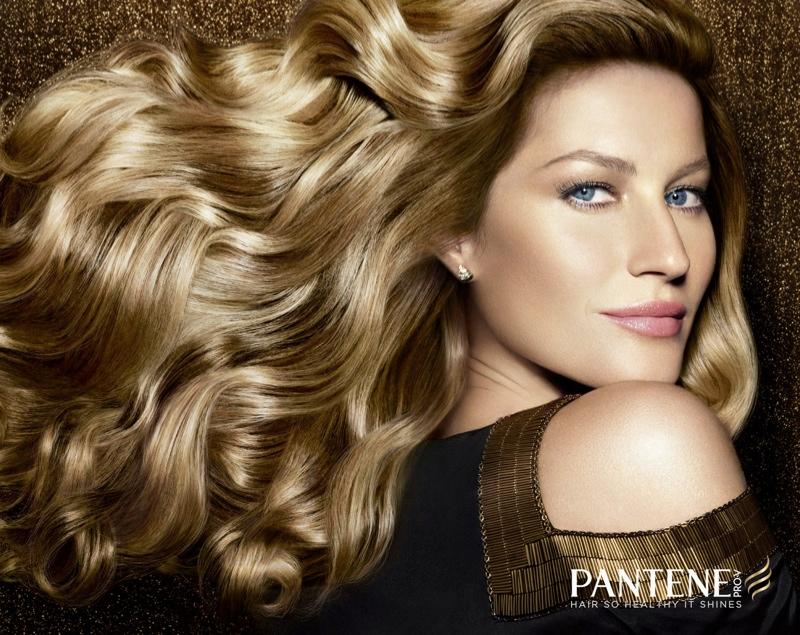 gisele pantene campaign1 Gisele Bundchen Named New Pantene Ambassador