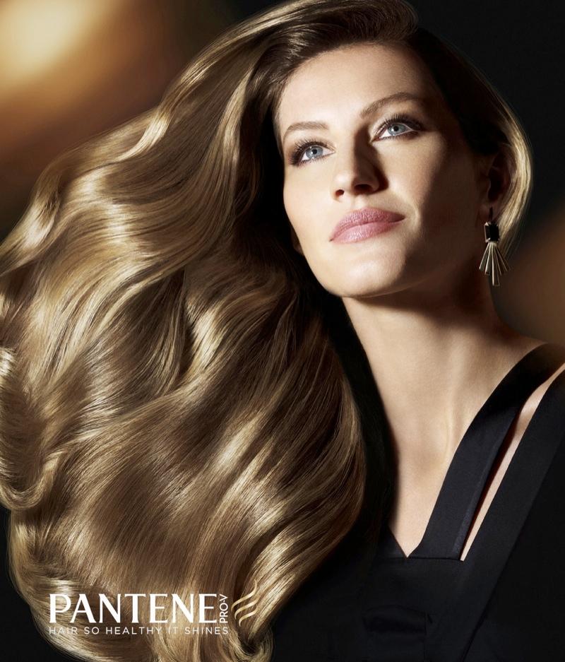 gisele pantene campaign2 Gisele Bundchen Named New Pantene Ambassador