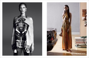 Erykah Badu + Eboni Riley Star in Givenchy Spring 2014 Ads