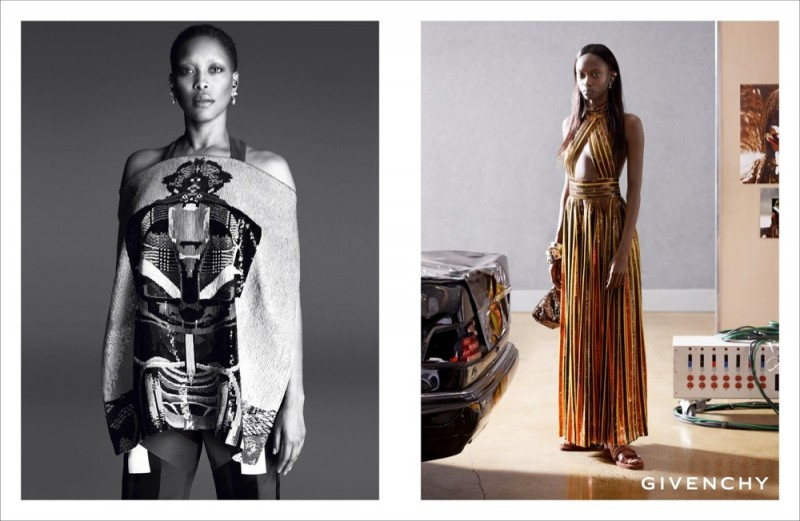 givenchy erykah badu 800x521 Erykah Badu + Eboni Riley Star in Givenchy Spring 2014 Ads