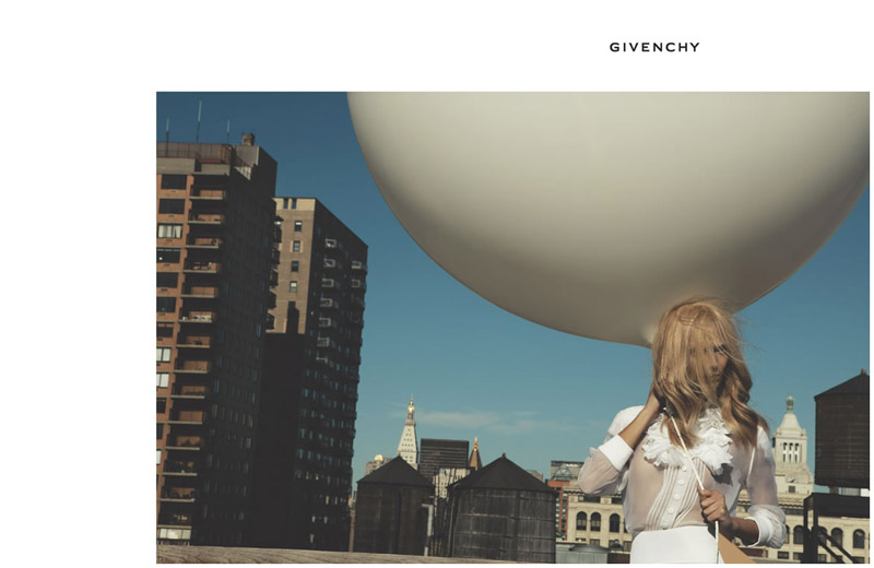 givenchy spring 2006 campaign1 Throwback Thursday | Mariacarla Boscono for Givenchy Spring 2006 Campaign