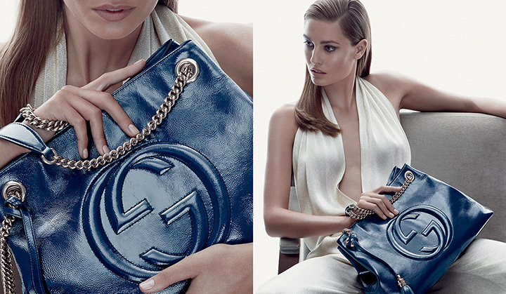 gucci cruise accessories1 Nadja Bender Stars in Guccis Cruise 2014 Accessories Campaign