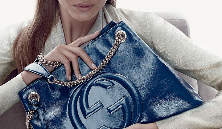 gucci cruise accessories4 Nadja Bender Stars in Guccis Cruise 2014 Accessories Campaign
