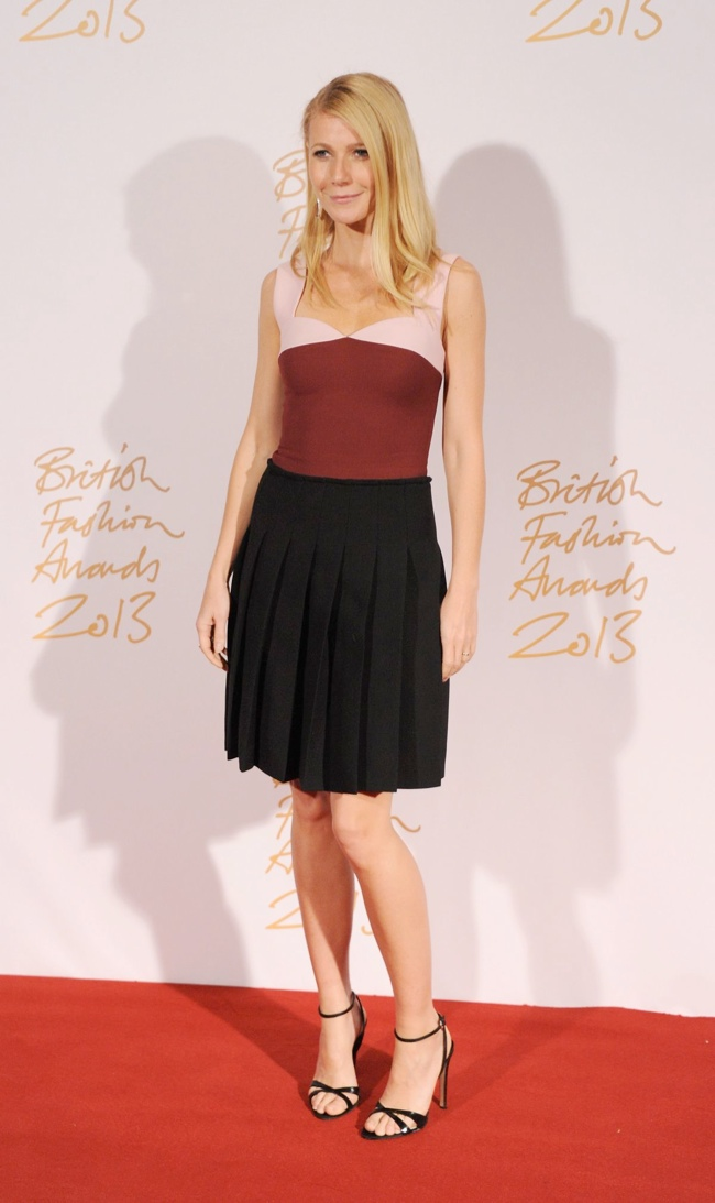 gwyneth prada bfa Daisy Lowe, Rosie Huntington Whiteley + More Stars at the 2013 British Fashion Awards