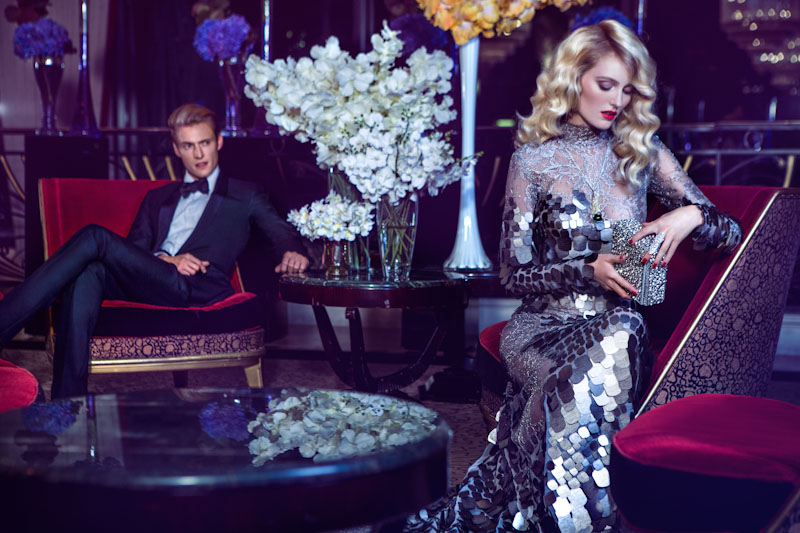 Michelle du Xuan Captures High Society for Harper's Bazaar China