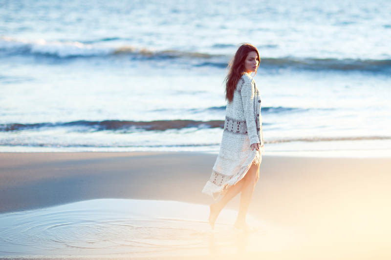 Therese Fischer Gets Ethereal for New Free People Feature