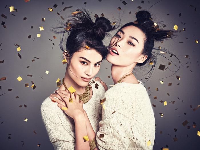 hm china new year4 H&M China Celebrates the New Year with Sui He + Tian Yi