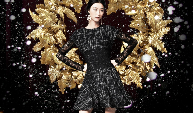 holiday dolce gabbana2 Marine Deleeuw + Ji Hye Park Dress in Holiday Looks for Dolce & Gabbana