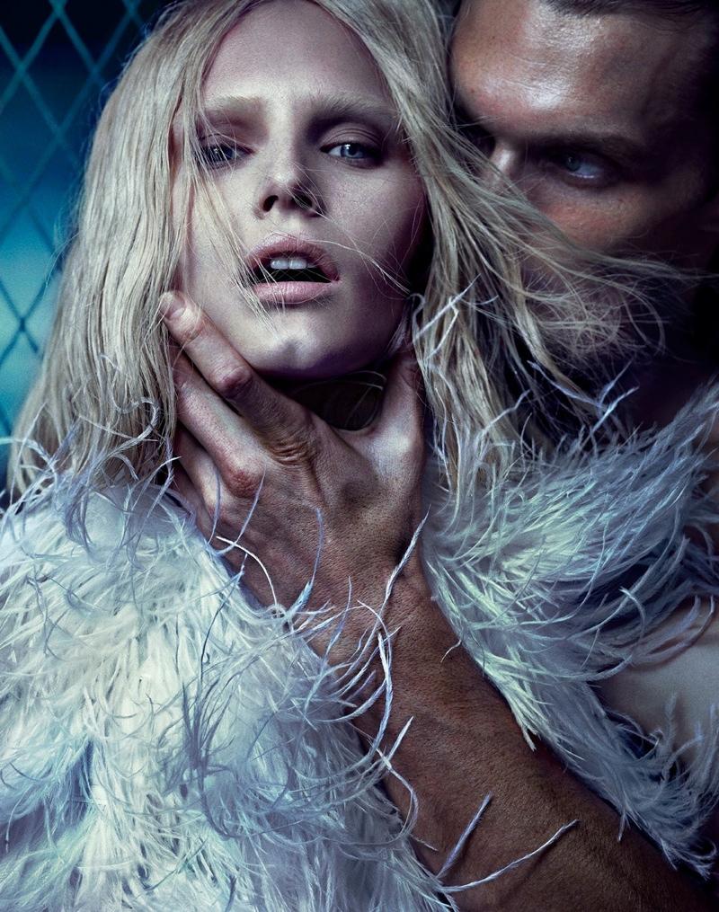 Alla Kostromicheva is a Swan Beauty for HGIssue by Hunter & Gatti