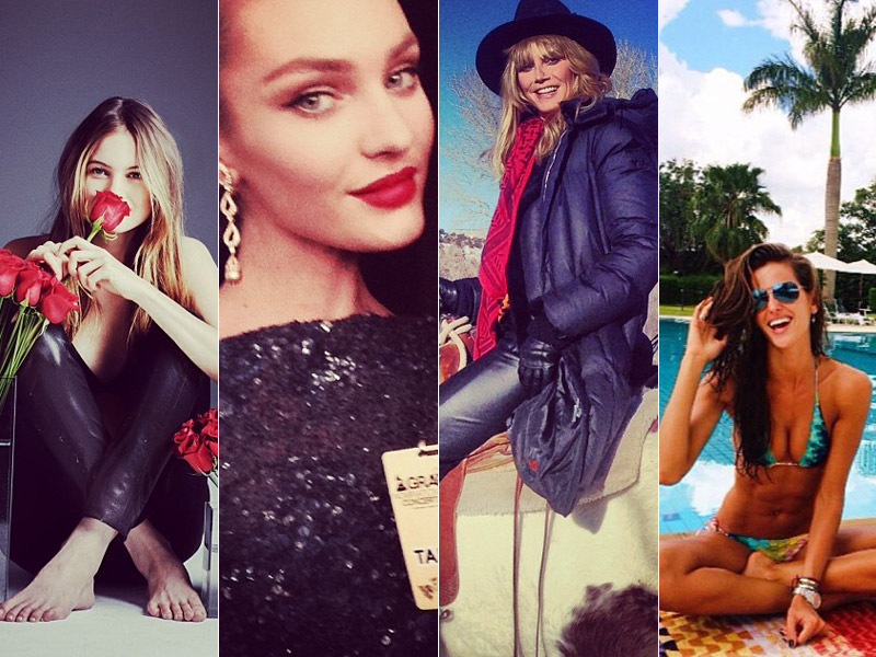 instagram dec roundup Instagram Photos of the Week | Barbara Palvin, Behati Prinsloo + More Model Pics