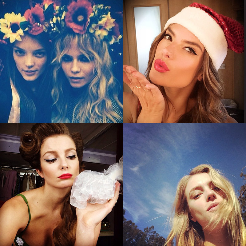 instagram december 20th Instagram Photos of the Week | Natasha Poly, Eniko Mihalik + More Model Pics