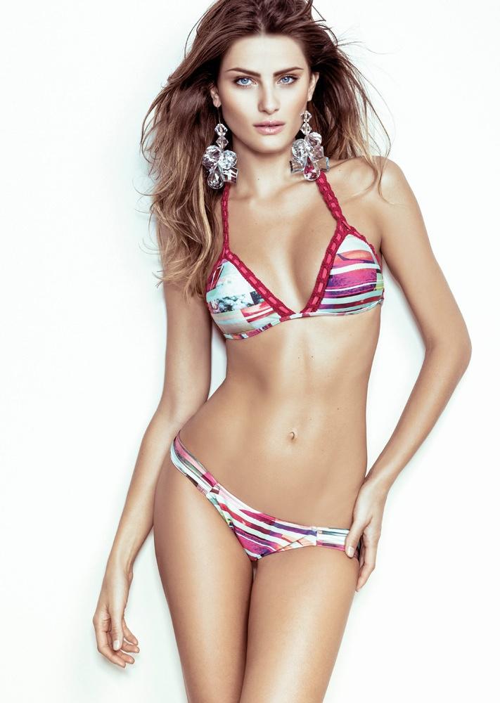 isabeli fontana morena rosa10 Isabeli Fontana Fronts Morena Rosa Beach Spring 2014 Ads