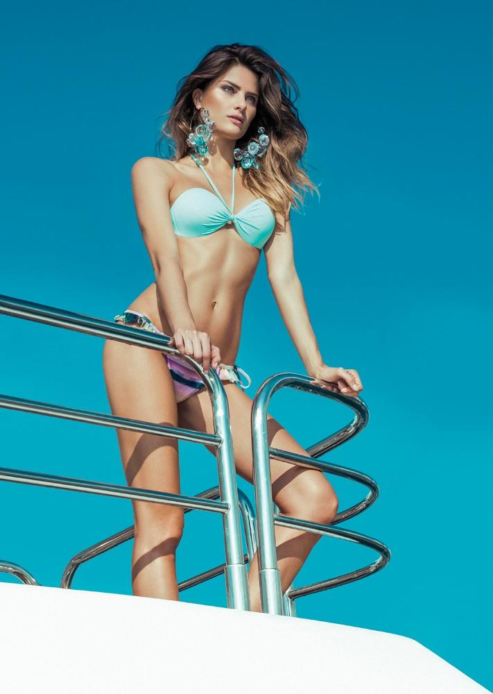 isabeli fontana morena rosa14 Isabeli Fontana Fronts Morena Rosa Beach Spring 2014 Ads
