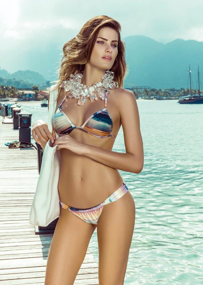 isabeli fontana morena rosa15 Isabeli Fontana Fronts Morena Rosa Beach Spring 2014 Ads