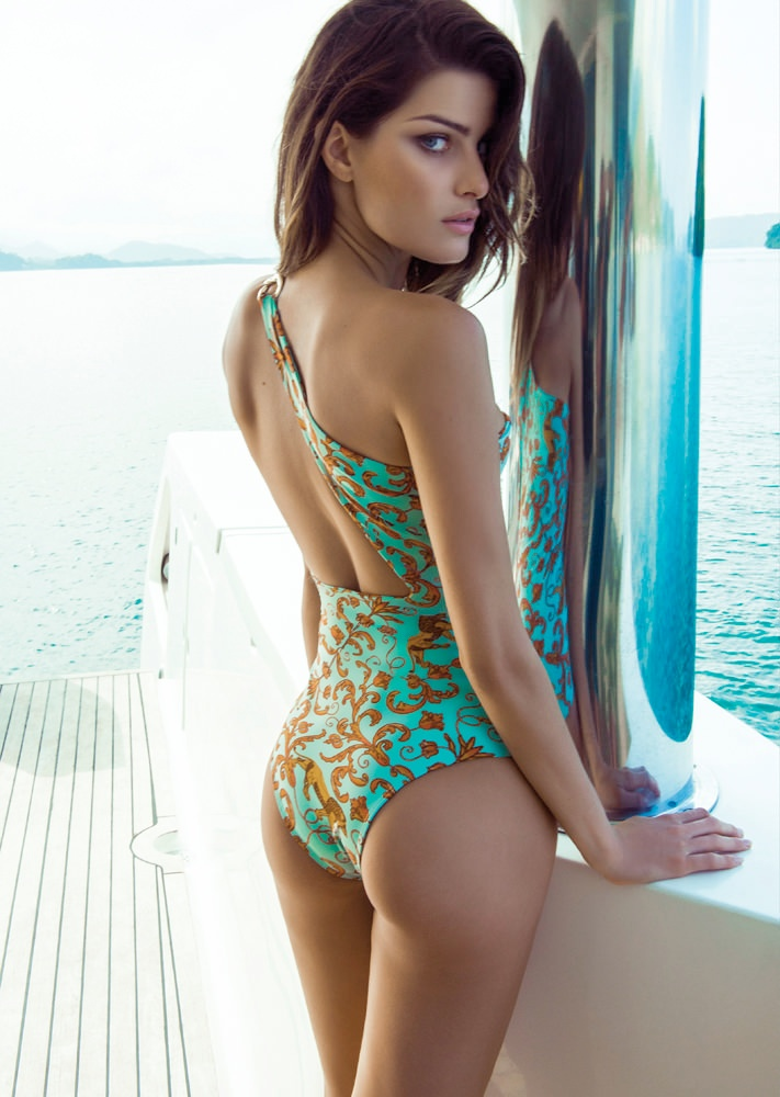 isabeli fontana morena rosa16 Isabeli Fontana Fronts Morena Rosa Beach Spring 2014 Ads
