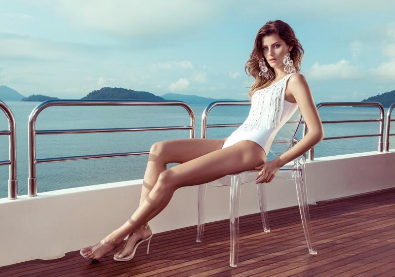 isabeli fontana morena rosa20 Isabeli Fontana Fronts Morena Rosa Beach Spring 2014 Ads
