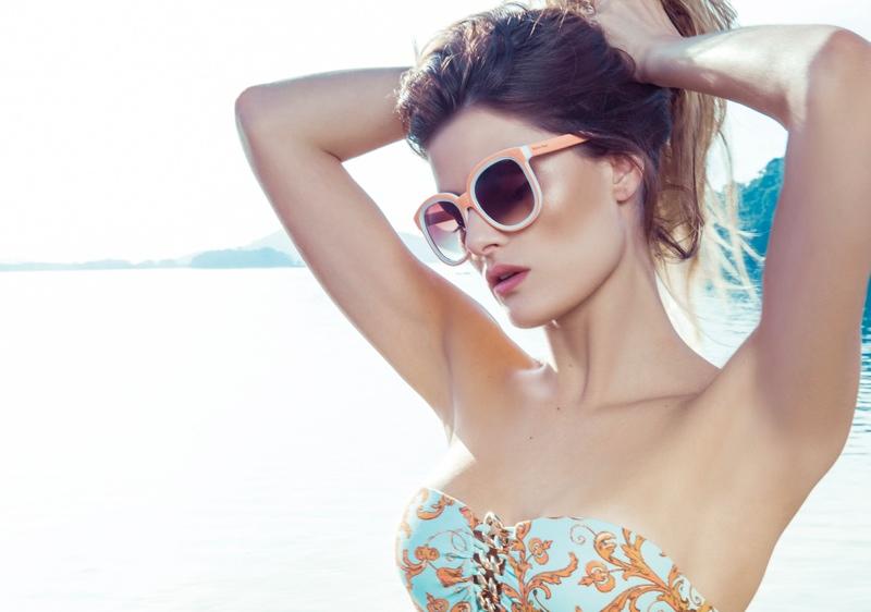 isabeli fontana morena rosa22 Isabeli Fontana Fronts Morena Rosa Beach Spring 2014 Ads