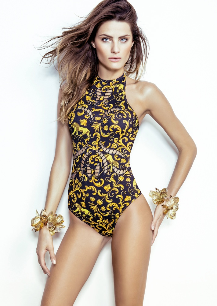 isabeli fontana morena rosa23 Isabeli Fontana Fronts Morena Rosa Beach Spring 2014 Ads