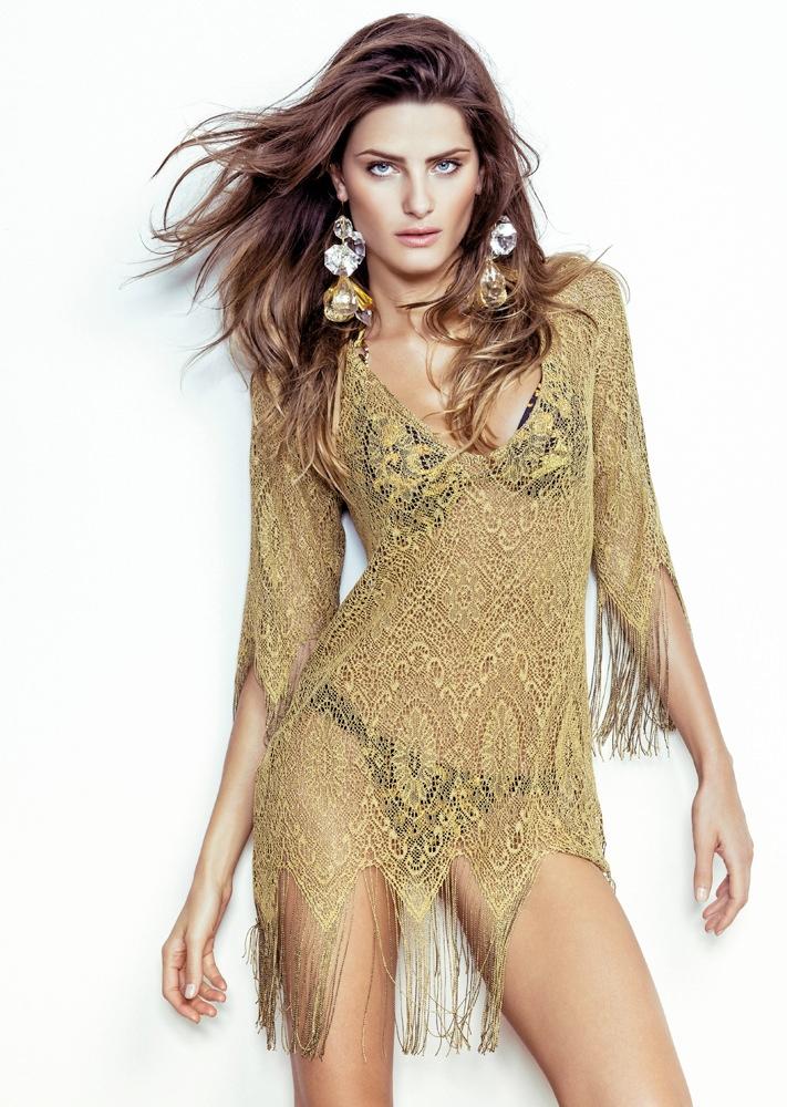 isabeli fontana morena rosa24 Isabeli Fontana Fronts Morena Rosa Beach Spring 2014 Ads