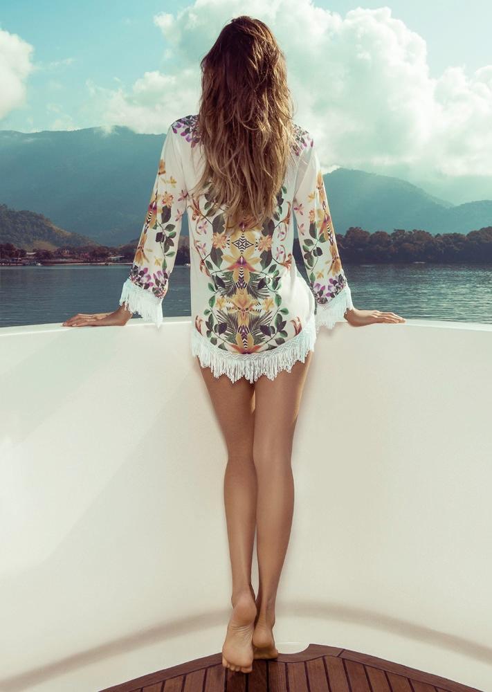 isabeli fontana morena rosa3 Isabeli Fontana Fronts Morena Rosa Beach Spring 2014 Ads