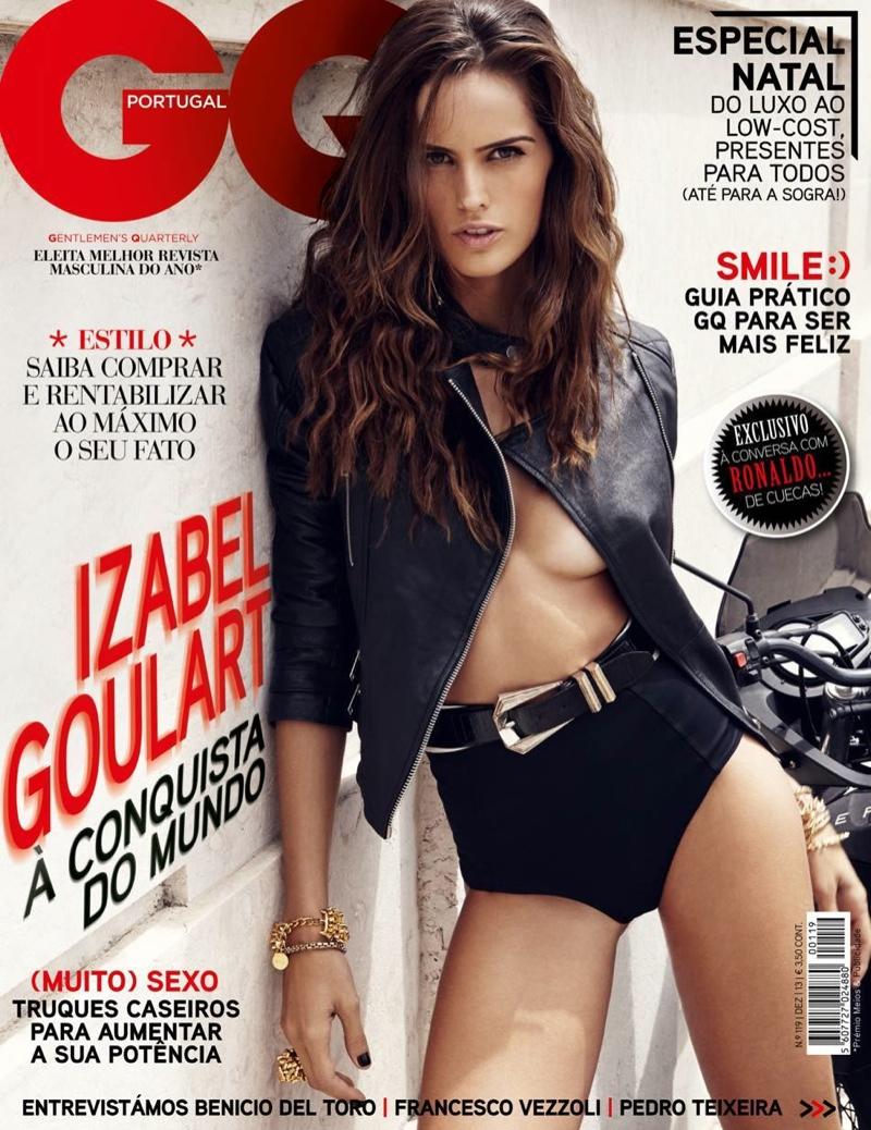 izabel goulart gq10 Izabel Goulart Sizzles in GQ Portugal by Branislav Simoncik