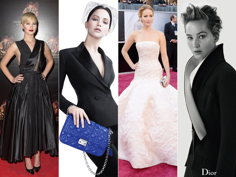 jennifer lawrence dior review Jennifer Lawrences Best Dior Moments