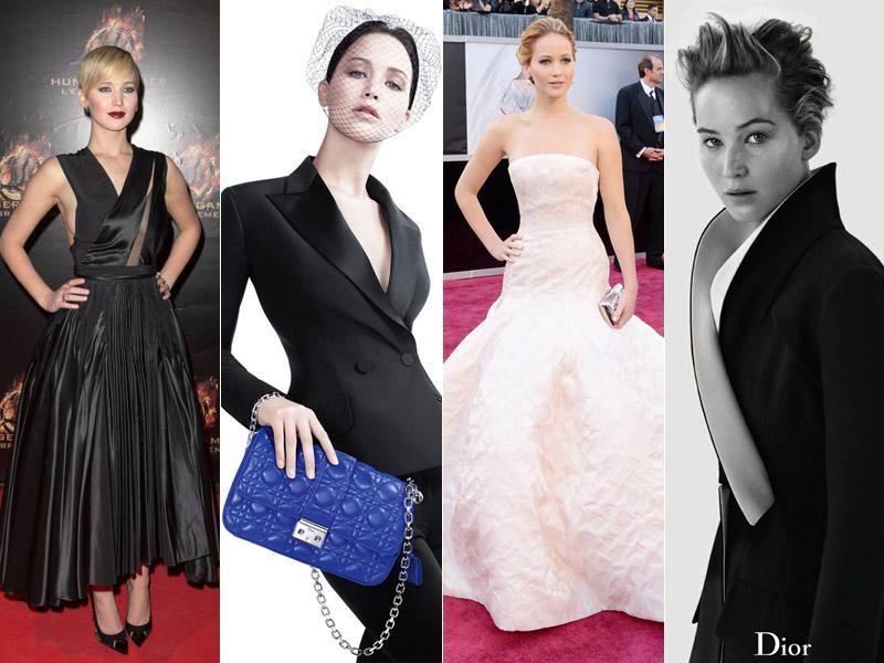 Jennifer Lawrence's Best Dior Moments