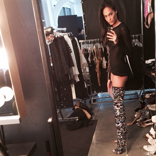 joan tom ford boots Instagram Photos of the Week | Barbara Palvin, Behati Prinsloo + More Model Pics